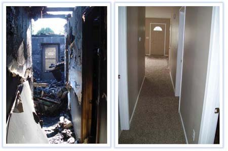 Devastating Home Fire - Outstanding Recovery! - Portfolio - M.J. White & Son, Inc. - mjwhite_15