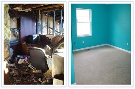 Devastating Home Fire - Outstanding Recovery! - Portfolio - M.J. White & Son, Inc. - mjwhite_17