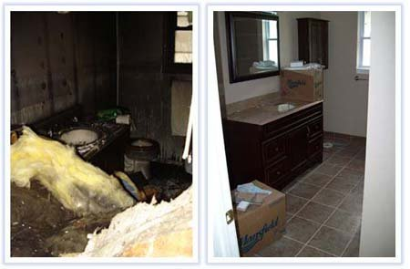 Devastating Home Fire - Outstanding Recovery! - Portfolio - M.J. White & Son, Inc. - mjwhite_18