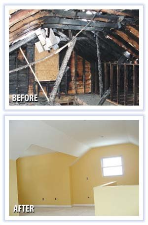 Fire and Smoke Restoration Company Plymouth MI - Fire Damage Restoration, Fire Damage Repair  - MJ White and Son - mjwhite_4